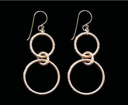 Roundabout Earrings 14k Gold Fill