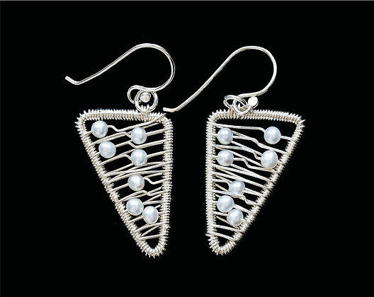 Wings Earrings - Sterling Silver