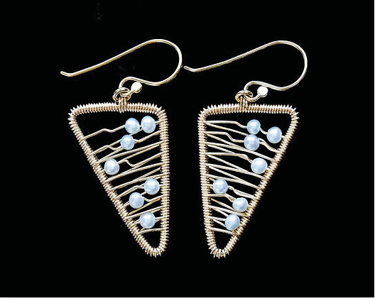 Wings Earrings - 14K Gold Fill