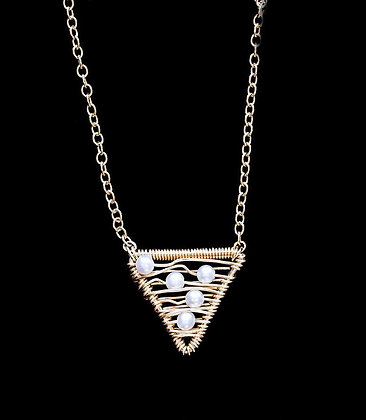 Weft Necklace - 14k Gold Fill