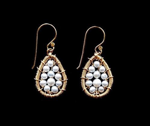 Petal Earrings - 14k Gold Fill