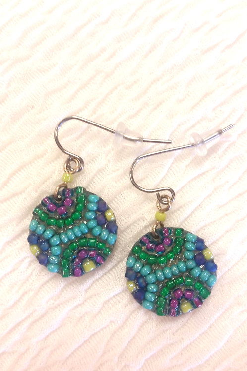 Peruvian Beaded Earrings