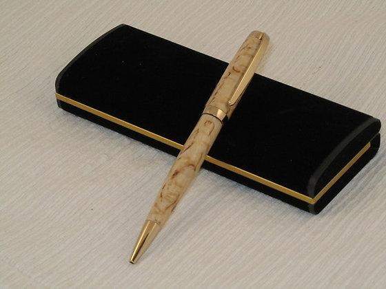 Laureate Twist, Masur Birch Wood, Gold
