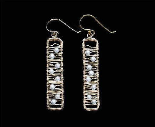 Weft Earrings - 14k Gold Fill