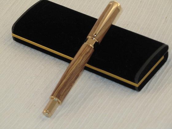 Zenith, Bethlehem Olivewood, Gold Hardware