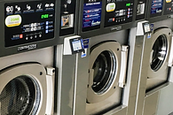 high speed, energy efficient washers & dryers