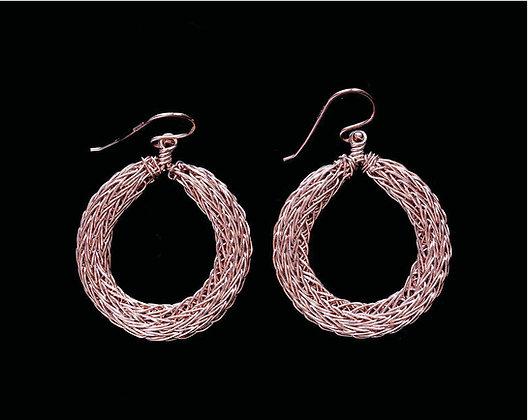 Compass Earrings - 14k Rose Gold Fill