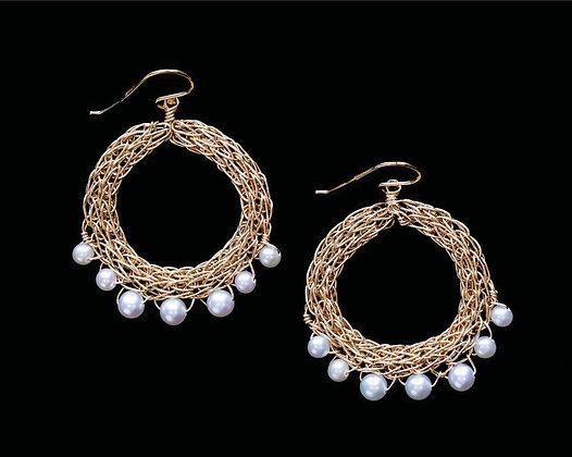 Fancy Fringe Earrings - 14k Gold Fill