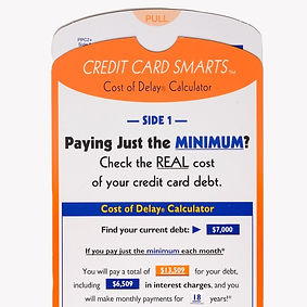 credit card smarts - minimize credit card debt