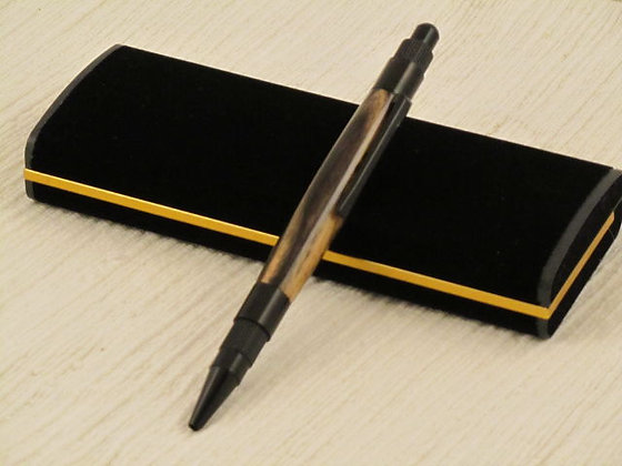 Lunar, Black & White Ebony, Black Enamel Hardware