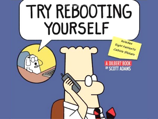 Try Rebooting Yourself*