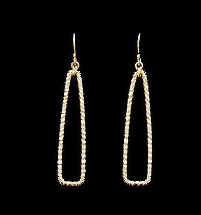 Pointe Earrings - 14k Gold Fill