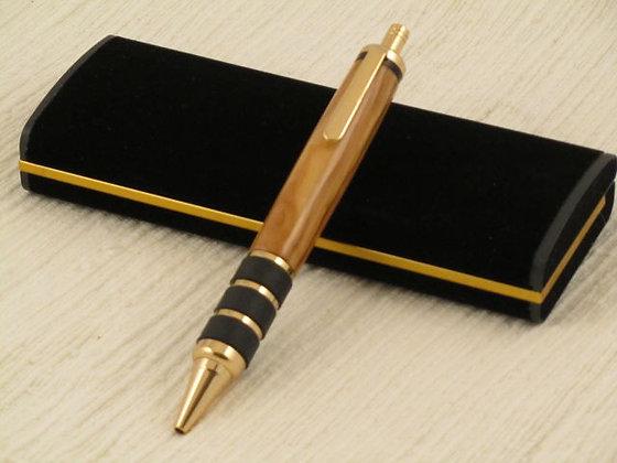 Sentinel Jr., Olivewood, 24kt Gold Hardware