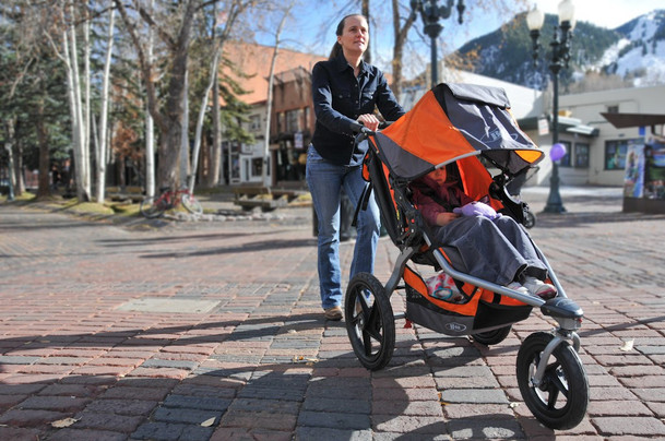 Baby Trend Double Jogger: Adjustable Double Stroller for Your Child