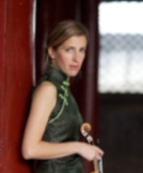 Philippa Mo, violin on tour in Beijing, China with Retorica Duo, photography by Ben Macmillan