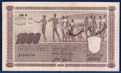 1000 Mark Note