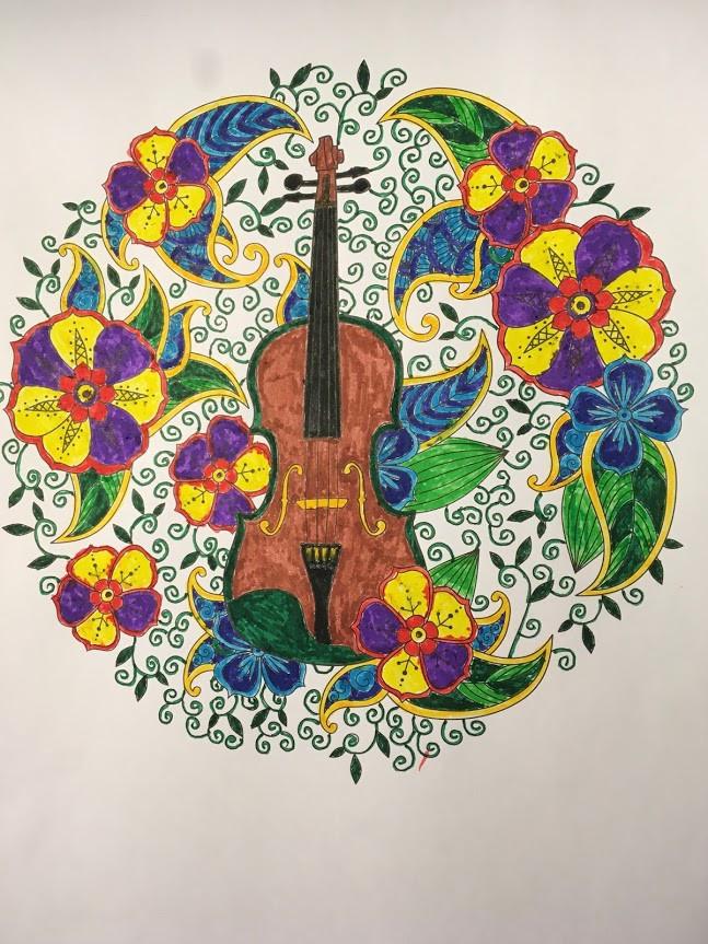 Cello Illustration