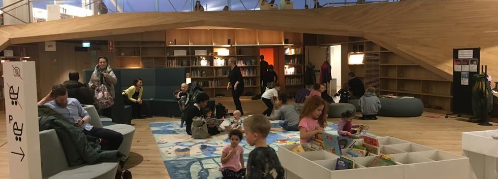 Children's Play Area, Helsinki Library