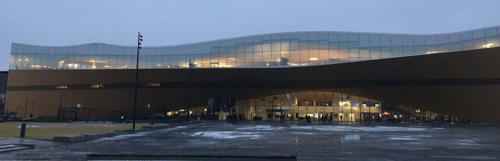 The New Helsinki Library / Space Ship