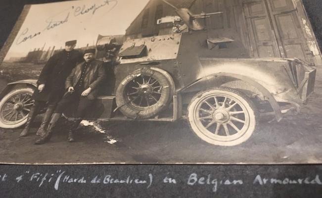 Belgian Armored Car