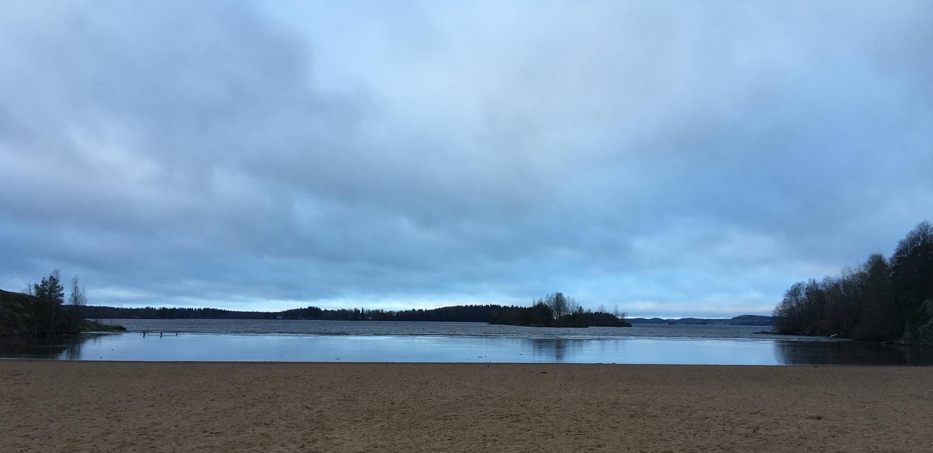 The Beach at Pynnikki Ridge