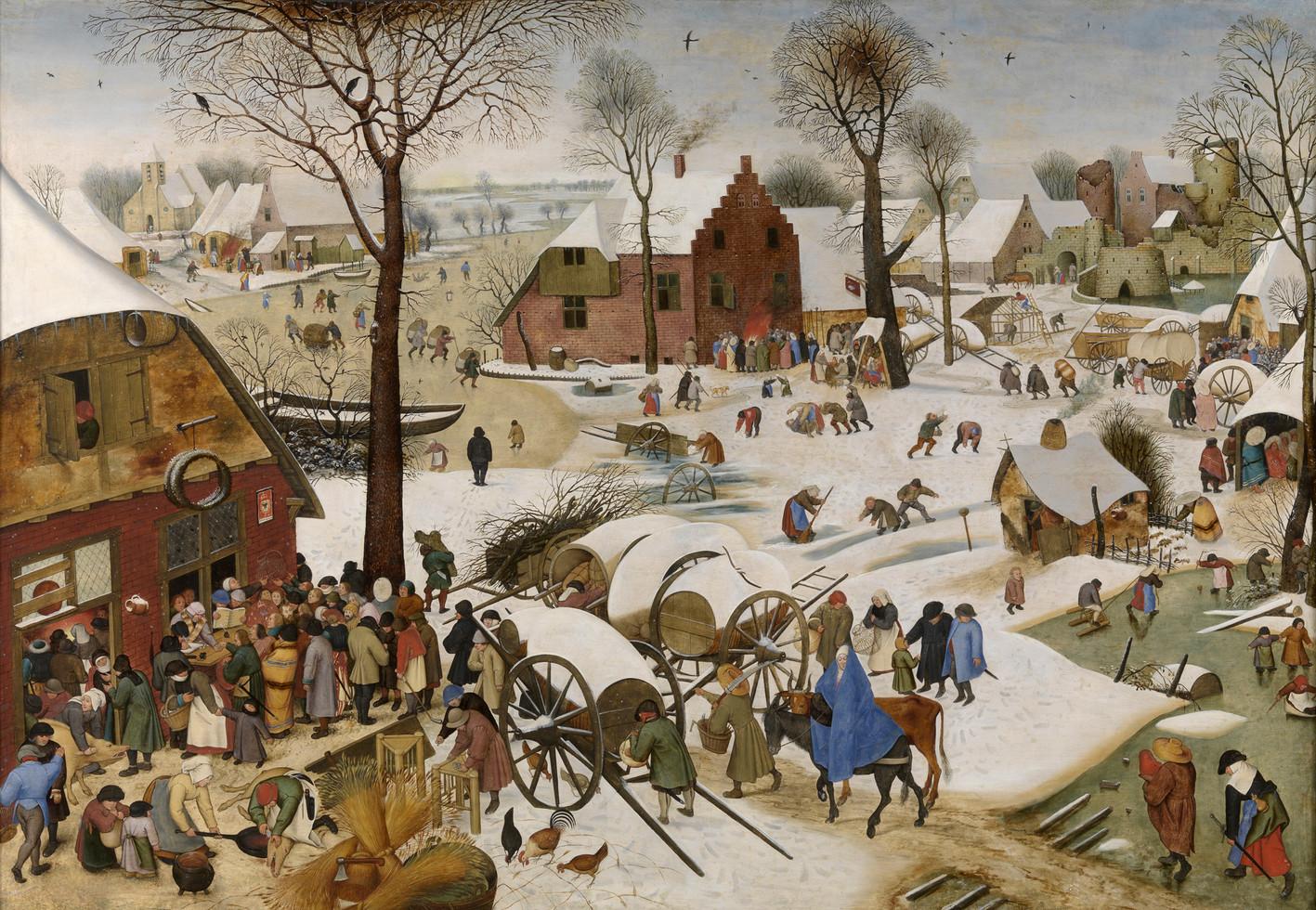 Pieter Bruegel the Elder, The Census at Bethlehem (1566)