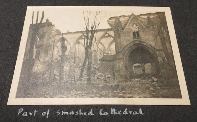 Part of Smashed Cathedral