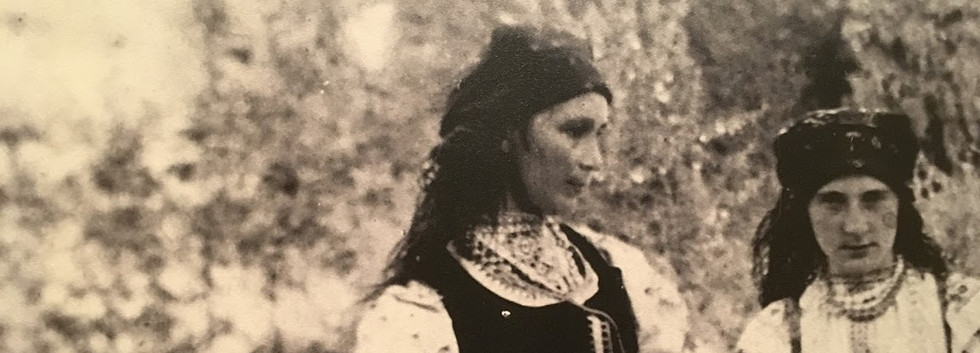 Natalia Gonchorova in Peasant Dress, Age 26