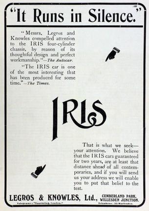 Iris Advert