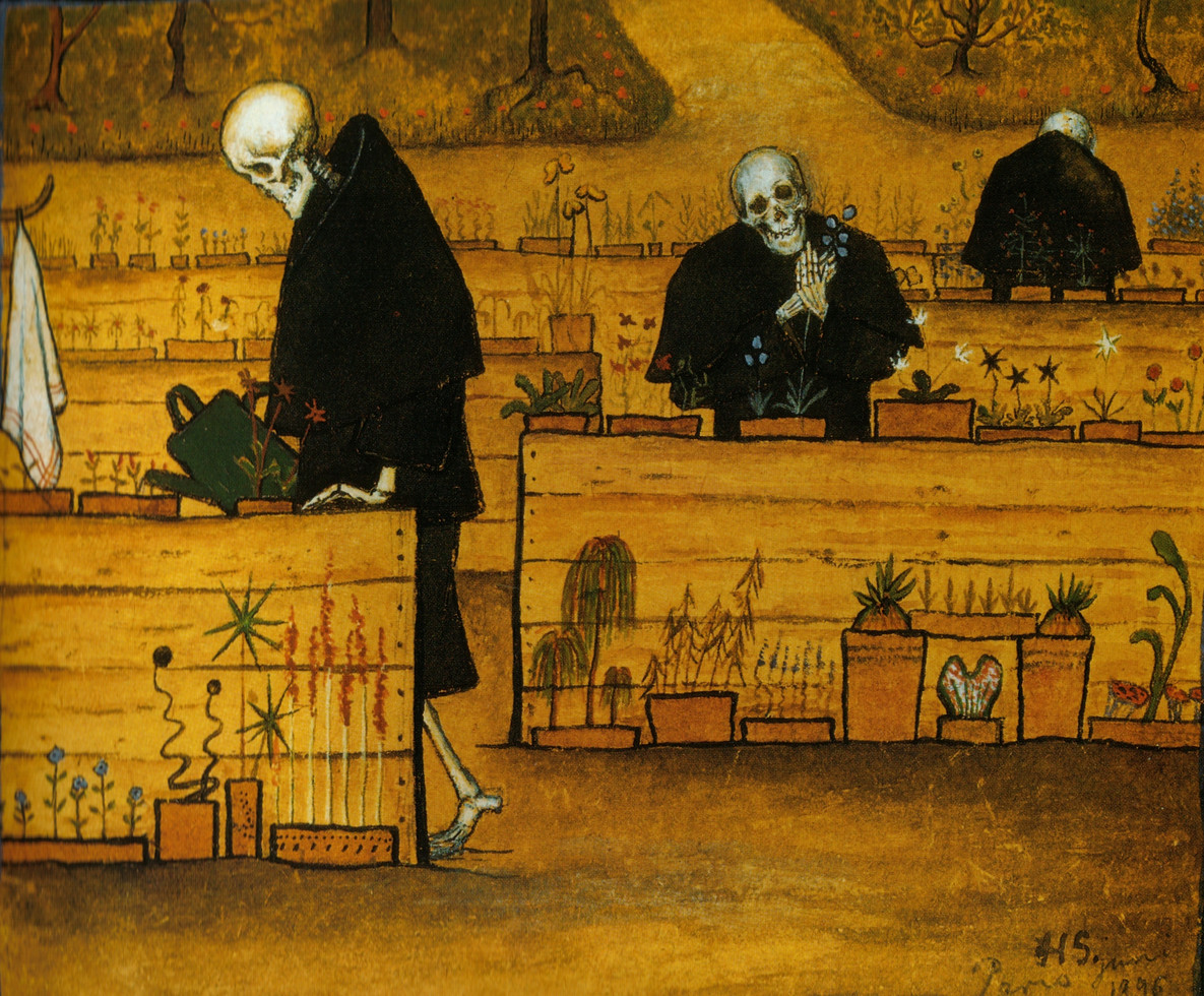Hugo Simberg, The Garden of Death (1896)