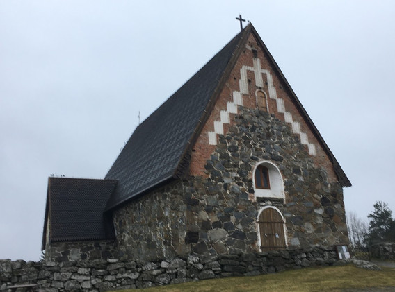 Medieval Church near Karkku