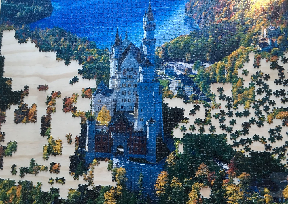 The worst puzzle in the world - every piece has a false positive
