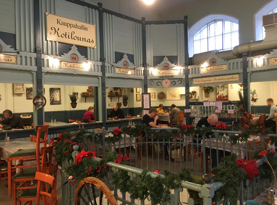 Kauppahalli (Market Hall)