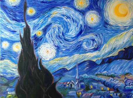 September:  Starry Night