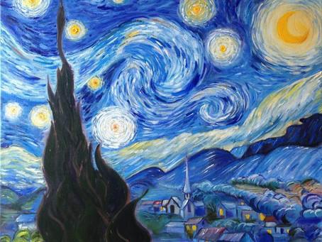 September:  Starry Night