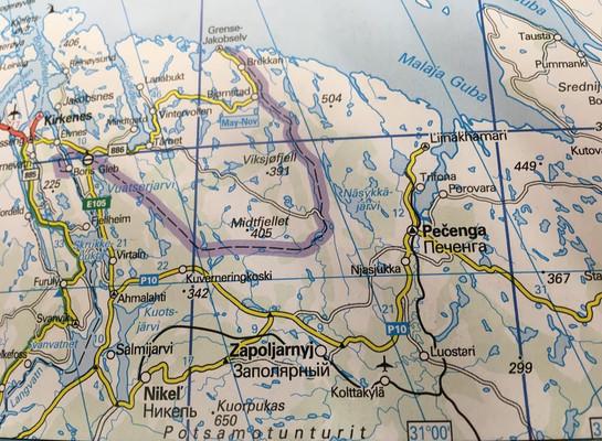 Modern Map of Nikel