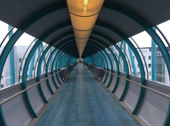 Hadron Collider (Actually a Walkway)