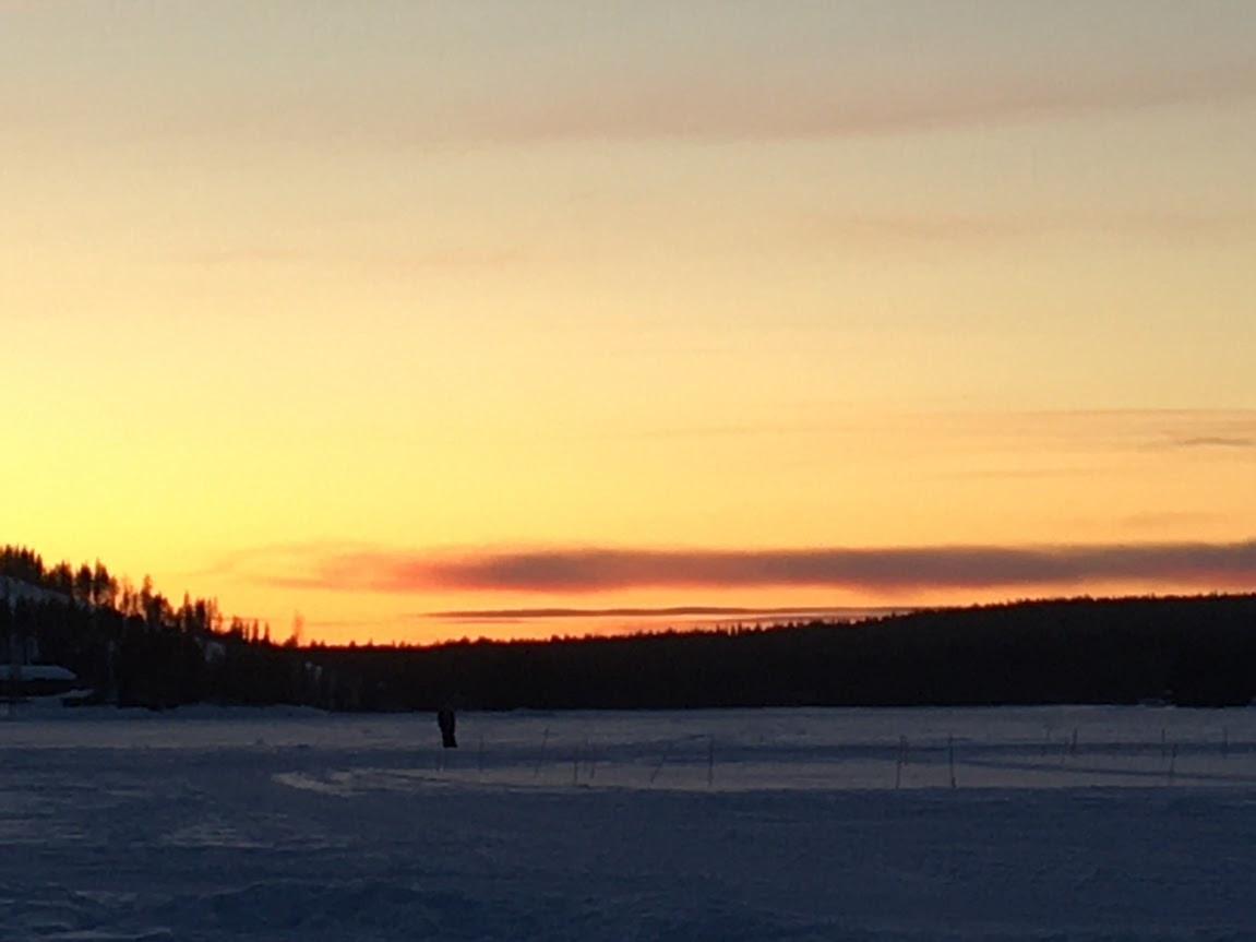 Sunset over Sinetta