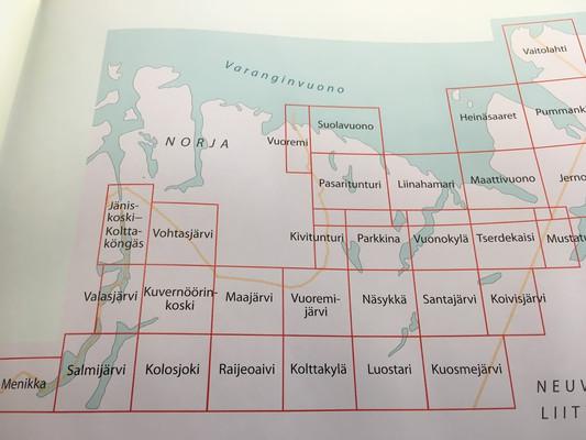 Grid of Petsamo Maps