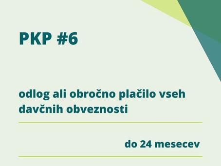 Odlog ali obročno plačilo davkov!  PKP6