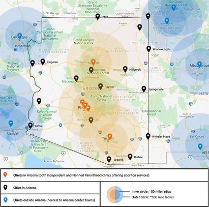 Heat Map (100 and 50 mile radius Updated