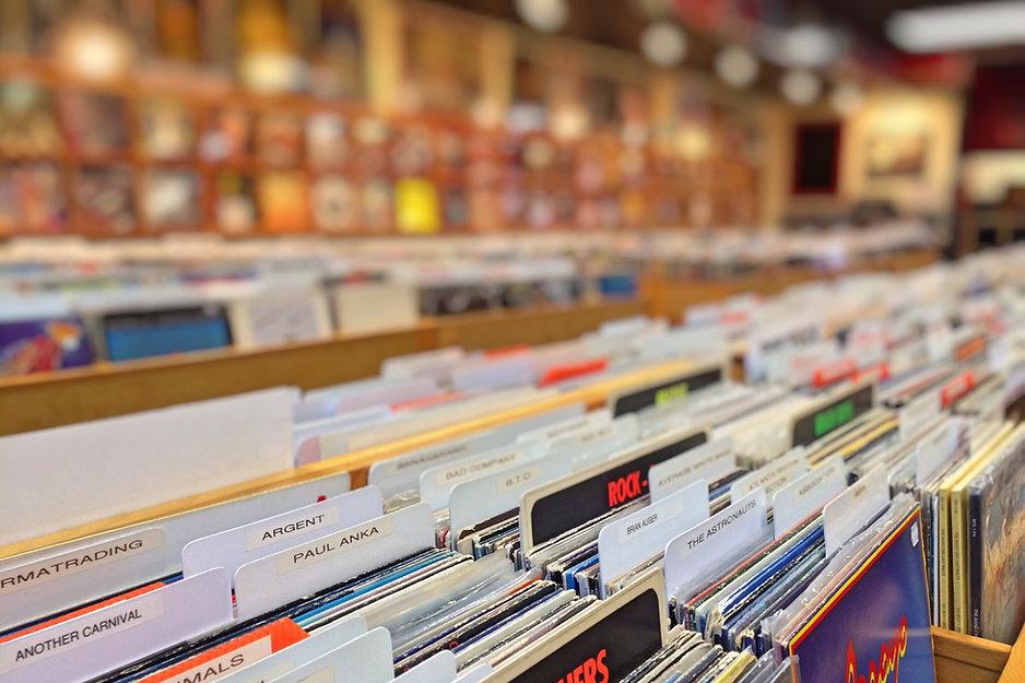 レコードの行