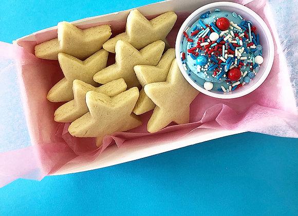 Patriotic Cookie Dunkers