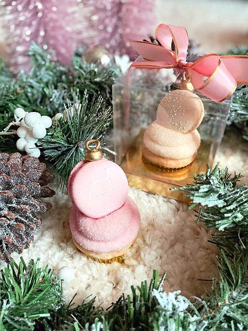 Macaron Ornament Cupcake Gift