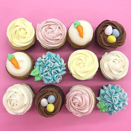 1 Dz Easter Cupcakes
