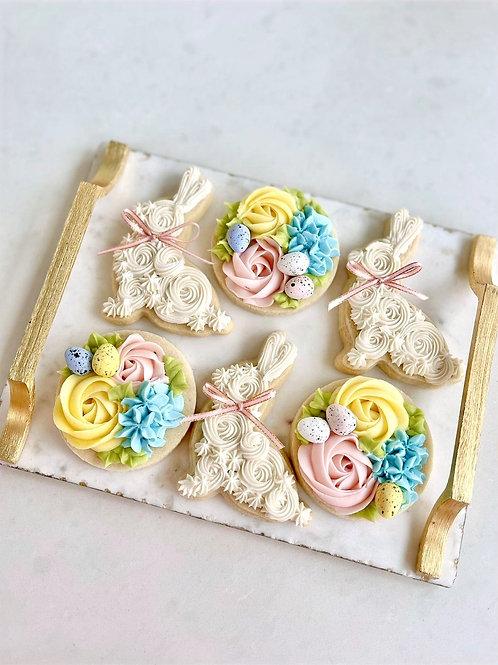 6 Buttercream Cookies