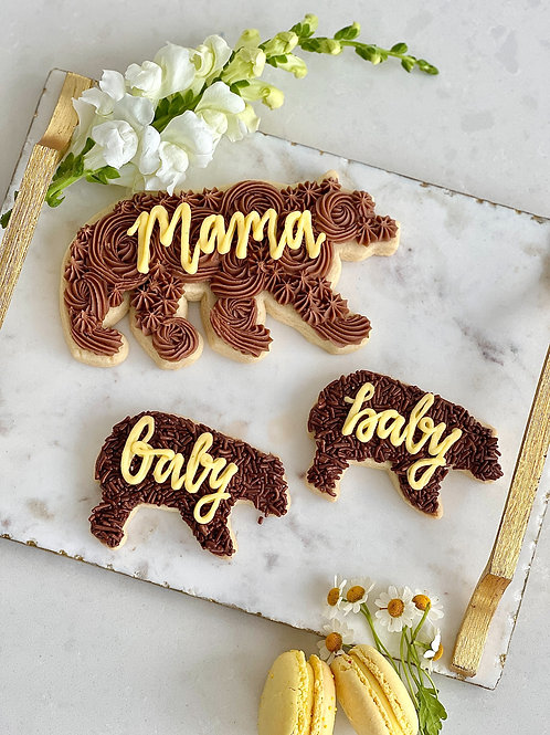 Baby Bear Cookie