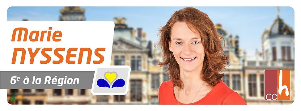 MARIE NYSSENS REGION BRUXELLOISE