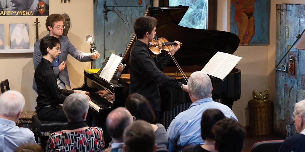 CHAMBER MUSIC CONCERT | MATTEO CIMATTI, violin - MARCO GAGGINI