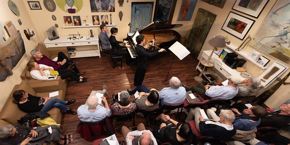 CHMBER MUSIC CONCERT | MATTEO CIMATTI, violino - MARCO GAGGINI, pianoforte